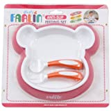 Farlin Stay Warm Set (Pink)