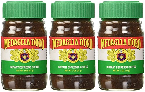 Medaglia D'Oro Instant Espresso Coffee, 2-Ounce Jars (Pack of 3) (Instant Espresso compare prices)