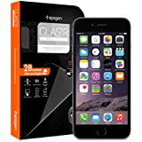 iPhone 6 Screen Protector, Spigen® iPhone 6 (4.7) Screen Protector Glass Slim [GLAS.tR SLIM] (0.4mm) Rounded Edges Glass Screen Protector for iPhone 6 (4.7) (2014) - GLAS.tR SLIM (SGP10932)