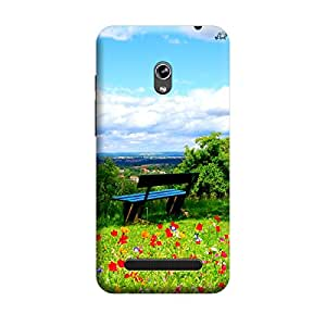 iShell Premium Printed Mobile Back Case Cover With Full protection For Asus Zenfone 5 (Designer Case)
