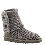 UGG Australia Infants' Cardy Sweater Boots,Grey,9 Child US