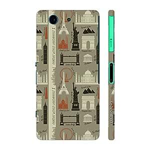 Enthopia Designer Hardshell Case Wonderland Back Cover for Sony Xperia Z4 Mini