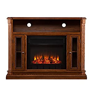Tv Stand Electric Fireplace Media Console Entertainment Center Storage Cabinet