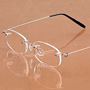 Frameless Magnifying Glasses : Fashion Men Women Frameless Eyeglasses Stylish Spring ...