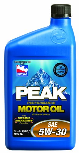 Peak P3m057 Sae 5w 30 Multigrade Motor Oil 1 Quart