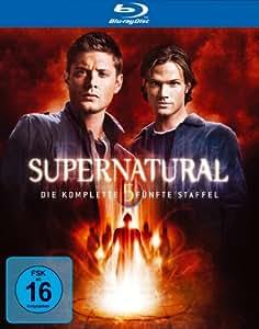 Supernatural - Die komplette fünfte Staffel (4 Blu-rays + Bonus-DVD) [Blu-ray]