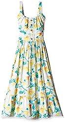 Pumpkin Patch Girls' Dress (S5GL80021_Clean White_7)