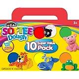 Cra-Z-Art Softee Dough, 10 Pack (13565)