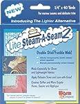 "Warm Company Lite Steam-A-Seam 2 Double Stick Fusible Web Tape -1/4"" X 40 Yards"