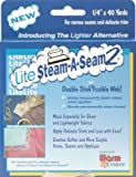 "Warm Company Lite Steam-A-Seam 2 Double Stick Fusible Web Tape -1/4"" X 40 Yards"