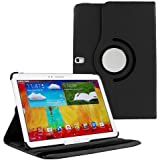 ARMOR Galaxy Note 10.1 SM-P605 Case, Flip Cover 360 Degree Series PU Leather 360 Degree Rotating Flip Cover With...