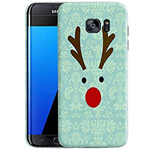 Theskinmantra Deer Xmas Back cover for Samsung Galaxy S7