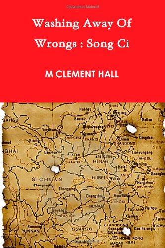 Washing Away Of Wrongs: Song Ci