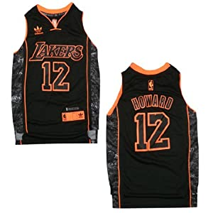 LIMITED EDITION: NBA LOS ANGELES LAKERS HOWARD #12 Youth Pro Quality Athletic Jersey... by NBA