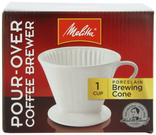 Melitta Coffee Maker Home Hardware : Melitta Coffee Maker, Porcelain Cone Drip Brewer, (Pack of 4) Home Garden Kitchen Dining Kitchen ...