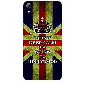 Skin4gadgets I CAN'T KEEP CALM I'm GOING TO HOLLYWOOD - Colour - UK Flag Phone Skin for HTC DESIRE 826 W