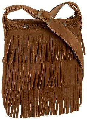 Minnetonka Fringe Handbag,Dusty Brown,one size
