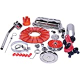 EMPI 8653 Super Chrome & Color 19 pc. Stock Style Deluxe Engine Kit - Red