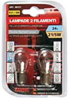 Lampa - 2 Ampoules 24V P21 5W Bay15D