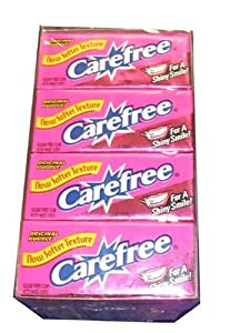 Carefree Original Sugarfree Gum