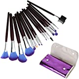 Sarasweet Beauty 16pc Professional Cosmetic Makeup Make Up Brush Brushes Set Kit With Purple Bag Case (Pouch B)