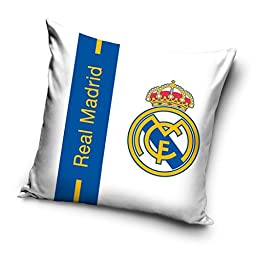 Real Madrid CF Blue Stripe Filled Cushion