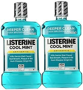 Cool Mint Listerine Antiseptic Mouthwash