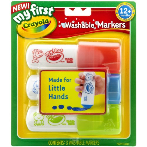 Crayola My First Crayola Easy Grip Washable Markers