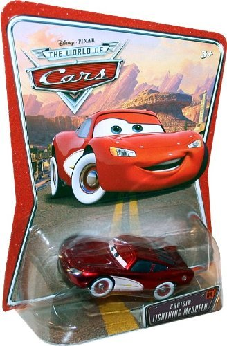 Disney Pixar The World of Cars Movie Series 1:55 Scale Die Cast Cars - Cruisin' Lightning McQueen (K4593)