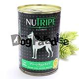 NUTRIPE(ニュートライプ) 犬用 ウエットフード グリーンラムトライプ 390g ラム(羊肉)