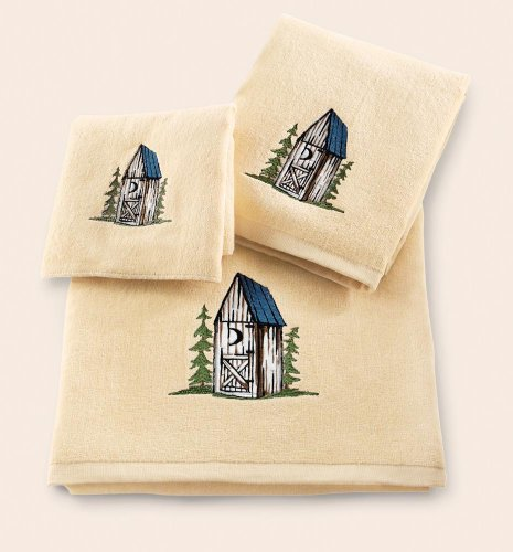 Magnificent Nostalgic Outhouse Bathroom Towel Set by Collections Etc 465 x 500 · 35 kB · jpeg
