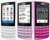 Nokia X3-02 White Silver SIM FREE/UNLOCKED