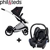 Phil & Teds Promenade Premium Baby Travel System (inc Car Seat)