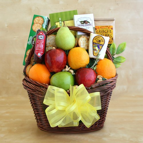 The Gift Basket Gallery Fresh As Spring Fruit