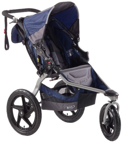 Read About BOB Revolution SE Single Stroller, Navy