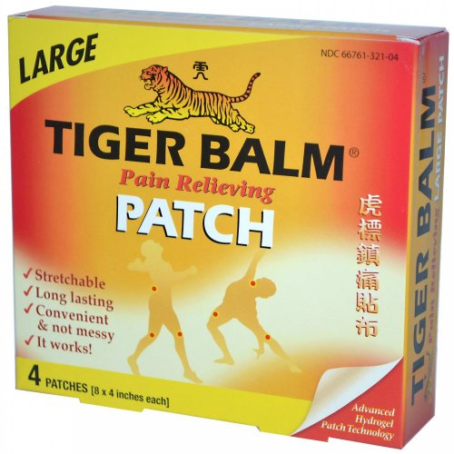 Tiger Balm Tiger Balm Patch Large  4 Count