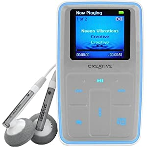 creative zen micro photo 8 gb mp3 player titanium grey electronics. Black Bedroom Furniture Sets. Home Design Ideas