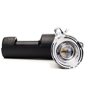 Y-SD DL09 LED Dynamo Bicycle Light, Dynamo Bike Headlight&Motorized Friction Generator. 200 Lumens, Waterproof, Easy to Install, Never Need Battery (Color: Black)