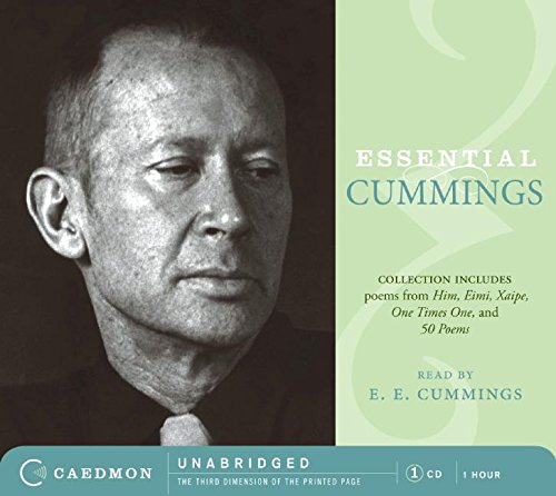 e e cummings essays Tiffany boyer an analysis e e cummings somewhere i have never travelled, gladly beyond edward estlin cummings, more commonly known as e e cummings, was.