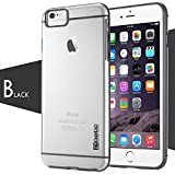 iPhone 6 Case - Poetic iPhone 6 Case [Atmosphere Series] - [Lightweight] [Slim-Fit] Slim-Fit Tranparent Hybrid Case for Apple iPhone 6 4.7 Clear/Gray (3 Year Manufacturer Warranty From Poetic)