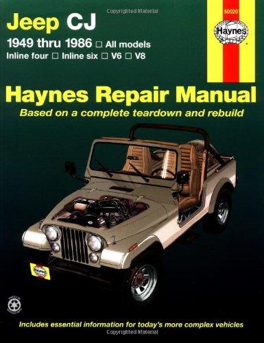 Jeep CJ  '49'86 (Haynes Repair Manual)