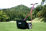 ゴルフ場、サッカースタジアムトップシェア バロネス 手動式芝刈り機 LM4D 【送料無料】