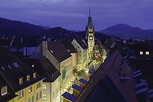 Poster Kunstdruck oder Leinwand-Bild Artland Wandbild fertig aufgespannt auf Keilrahmen Patrick Lohmüller Lichterpfad Freiburg in verschiedenen Größen erhältlich in verschiedenen Größen erhältlich
