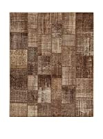 Design Community By Loomier Alfombra Tr Anatolia Patchwork Marrón 304 x 248 cm