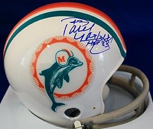 AUTOGRAPHED Paul Warfield Miami Dolphins Mini Helmet by Main Line Autographs