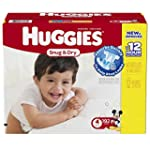 Huggies Snug and Dry Diapers, Size 4,...