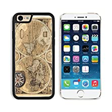 buy Msd Apple Iphone 6 Iphone 6S Aluminum Plate Bumper Snap Case Old Map 1626 A New And Accvrat Map Of The World Image 17357680