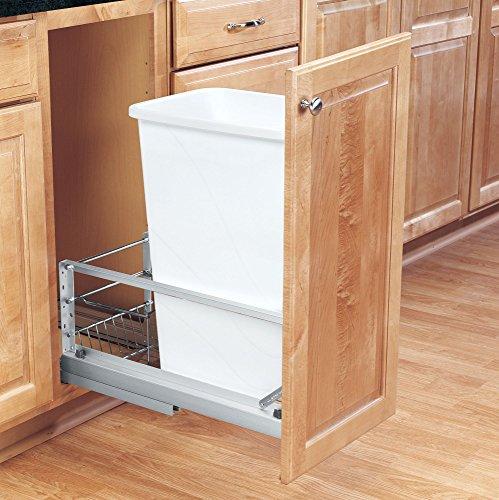 Rev-A-Shelf - 5349-1550DM-1 - 50 Quart Pullout Waste Container