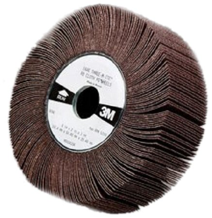 3M Flap Wheel 244E, 6 Diameter x 2 Width, 60 Grit (Pack of 5) 2 3 4or 3brs new pull pack of 2