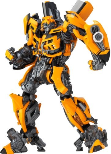 SCI-FI-Revoltech-Series-No038-Transformers-Bumblebee-125-mm-PVC-Figure-JAPAN-by-Kaiyodo